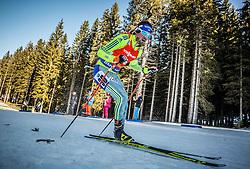 Fredrik Lindstroem (SWE) during Men 12,5 km Pursuit at day 3 of IBU Biathlon World Cup 2015/16 Pokljuka, on December 19, 2015 in Rudno polje, Pokljuka, Slovenia. Photo by Vid Ponikvar / Sportida