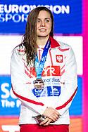 TCHORZ Alicja Poland POL Bronze Medal<br /> 50 backstroke women Final<br /> Glasgow 07/12/2019<br /> XX LEN European Short Course Swimming Championships 2019<br /> Tollcross International Swimming Centre<br /> Photo  Giorgio Scala / Deepbluemedia / Insidefoto