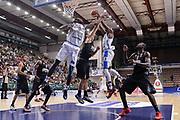 DESCRIZIONE : Trofeo Meridiana Dinamo Banco di Sardegna Sassari - Olimpiacos Piraeus Pireo<br /> GIOCATORE : Christian Eyenga Brenton Petway<br /> CATEGORIA : Rimbalzo<br /> SQUADRA : Dinamo Banco di Sardegna Sassari<br /> EVENTO : Trofeo Meridiana <br /> GARA : Dinamo Banco di Sardegna Sassari - Olimpiacos Piraeus Pireo Trofeo Meridiana<br /> DATA : 16/09/2015<br /> SPORT : Pallacanestro <br /> AUTORE : Agenzia Ciamillo-Castoria/L.Canu