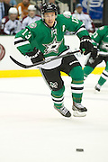 DALLAS, TX - SEPTEMBER 26:  Ray Whitney #13 of the Dallas Stars chases down a lose puck against the Colorado Avalanche in an NHL preseason game on September 26, 2013 at the American Airlines Center in Dallas, Texas.  (Photo by Cooper Neill/Getty Images) *** Local Caption *** Ray Whitney