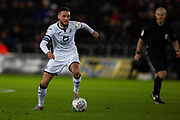 Swansea City midfielder Matt Grimes (8) during the EFL Sky Bet Championship match between Swansea City and Queens Park Rangers at the Liberty Stadium, Swansea, Wales on 11 February 2020.