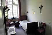 Nederland, kerkrade, 24-4-2009Slaapvertrek in voormalig klein semenarie, priesteropleiding en kostschool RolDuc, tegenwoordig hotel en conferentieoord. Foto: Flip Franssen