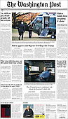 February 06, 2021 (USA): Front-page: Today's Newspapers In USA