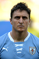 Fifa Brazil 2013 Confederation Cup / Semifinal Match /<br /> Brazil vs Uruguay 2-1  ( Mineirao Stadium - Belo Horizonte , Brazil )<br /> Cristian RODRIGUEZ of Uruguay , during the match between Brazil and Uruguay