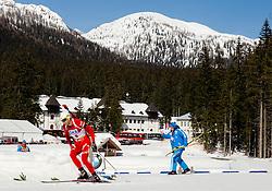BJOERNDALEN Ole Einar of Norway during Men 12.5 km Pursuit competition of the e.on IBU Biathlon World Cup on Saturday, March 8, 2014 in Pokljuka, Slovenia. Photo by Vid Ponikvar / Sportida