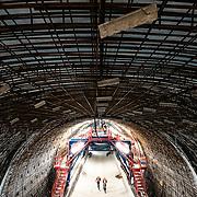 Bauarbeiten am Tunnel Bertoldshofen im Allgäu, Juni 2020.