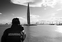 Valencia, Spain, February 9th 2010. 33rd Americas Cup. © Sander van der Borch