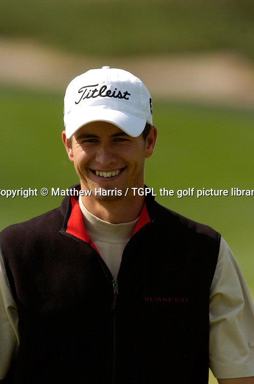 Adam SCOTT (AUS) during fourth round Johnnie Walker Asian Classic 2005,Pine Valley Resort & Country Club,Beijing,China