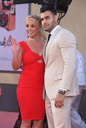 """Los Angeles premiere of """"Once Upon A Time In Hollywood"""" held at the TCL Chinese Theatre on July 22, 2019 in Hollywood, CA. © Lisa O'Connor/AFF-USA.com. 22 Jul 2019 Pictured: Britney Spears and Sam Asghari. Photo credit: O'Connor/AFF-USA.com / MEGA TheMegaAgency.com +1 888 505 6342"""