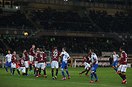Gaston Ramirez of Sampdoria fires home a free kick to level the scoreline at 1-1 during the Serie A match at Stadio Grande Torino, Turin. Picture date: 8th February 2020. Picture credit should read: Jonathan Moscrop/Sportimage