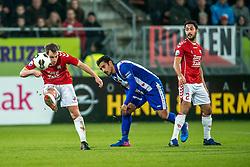 05-02-2017 NED: FC Utrecht - Heerenveen, Utrecht<br /> 21e speelronde van seizoen 2016-2017, Nieuw Galgenwaard / Wout Brama #23, Mark van der Maarel #2