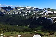 USA, Colorado, Rocky Mountain National Park,  from Trail Ridge Road