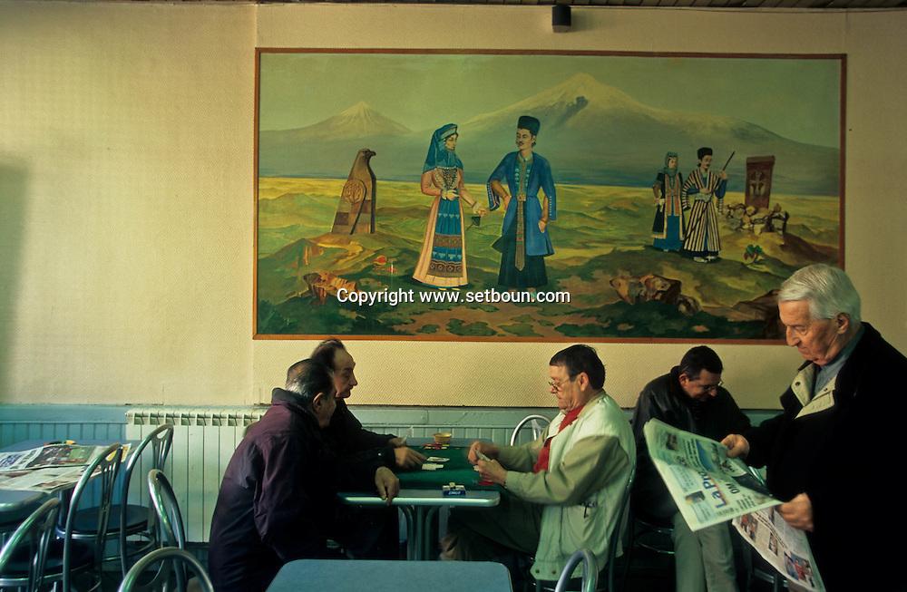 = Armenian bar, La cilicie , in Saint Loup area Marseille France   ///Bar armenien , la Cilicie dans le quartier de Saint loup Marseille  France  +