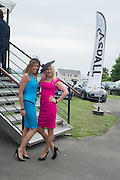 MELODY AMBROSE; KAROLINA OBRZUT, Sam Sangster, Carlo Carello and Christian Hamilton host a preview of Aspall's 1728 Fine Sparkling Cyder. Ladies Day, Epsom Downs.  A pop-up bar in No 1 car-park and lunch in a Box in the grandstand. . 3 June 2016