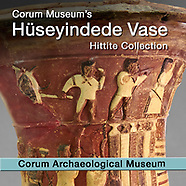 Pictures of Huseyindede Hittite Relief Vase -