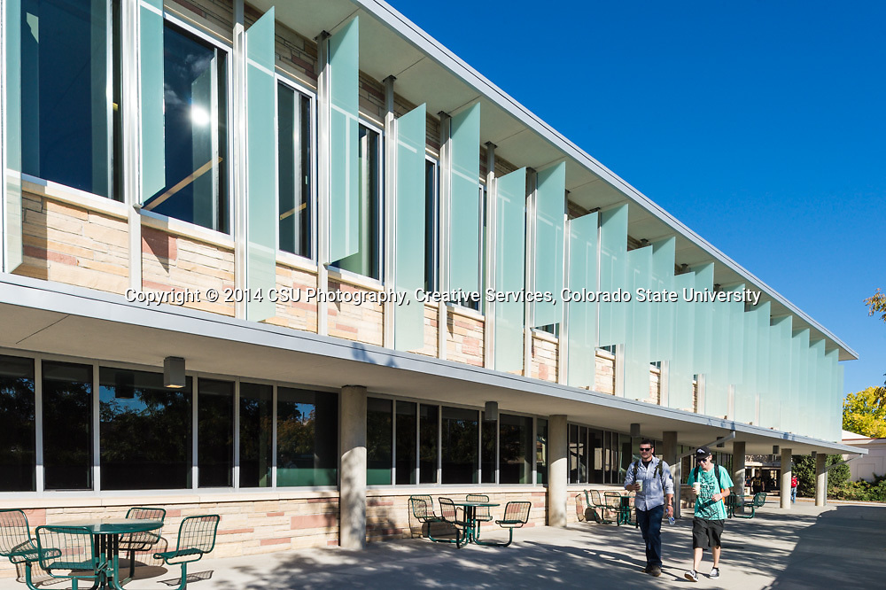 The Colorado State University Lory Student Center opens after renovation, September 19, 2014.