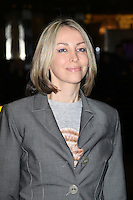 Natalie Appleton, Exhibition of exclusive photographs of Kate Moss at The Savoy, London UK, 30 January 2014, Photo by Richard Goldschmidt
