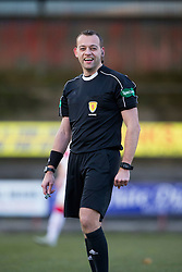 Ref Gavin Duncan. Albion Rover 1 v 2 Airdrie, Scottish League 1 game played 5/11/2016 at Cliftonhill.