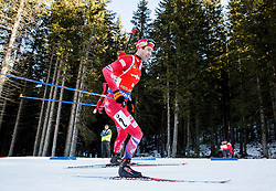 Ole Einar Bjoerndalen (NOR) competes during Men 12,5 km Pursuit at day 3 of IBU Biathlon World Cup 2015/16 Pokljuka, on December 19, 2015 in Rudno polje, Pokljuka, Slovenia. Photo by Vid Ponikvar / Sportida