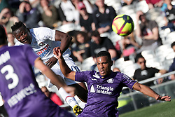 February 24, 2019 - Toulouse, France - 11 CASIMIR NINGA (CAEN) - 02 KELVIN AMIAN  (Credit Image: © Panoramic via ZUMA Press)