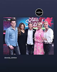 "Patricia Blanco releases a photo on Instagram with the following caption: ""Stars im Spiegel heute 22 40 RTl war eine tolle Show\ud83d\ude18\ud83d\ude18\ud83d\ude18"". Photo Credit: Instagram *** No USA Distribution *** For Editorial Use Only *** Not to be Published in Books or Photo Books ***  Please note: Fees charged by the agency are for the agency's services only, and do not, nor are they intended to, convey to the user any ownership of Copyright or License in the material. The agency does not claim any ownership including but not limited to Copyright or License in the attached material. By publishing this material you expressly agree to indemnify and to hold the agency and its directors, shareholders and employees harmless from any loss, claims, damages, demands, expenses (including legal fees), or any causes of action or allegation against the agency arising out of or connected in any way with publication of the material."