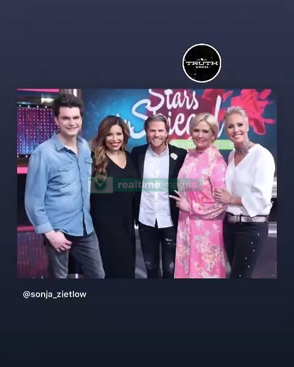 """Patricia Blanco releases a photo on Instagram with the following caption: """"Stars im Spiegel heute 22 40 RTl war eine tolle Show\ud83d\ude18\ud83d\ude18\ud83d\ude18"""". Photo Credit: Instagram *** No USA Distribution *** For Editorial Use Only *** Not to be Published in Books or Photo Books ***  Please note: Fees charged by the agency are for the agency's services only, and do not, nor are they intended to, convey to the user any ownership of Copyright or License in the material. The agency does not claim any ownership including but not limited to Copyright or License in the attached material. By publishing this material you expressly agree to indemnify and to hold the agency and its directors, shareholders and employees harmless from any loss, claims, damages, demands, expenses (including legal fees), or any causes of action or allegation against the agency arising out of or connected in any way with publication of the material."""
