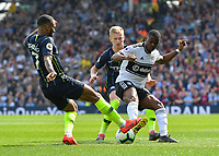 Football - 2018 / 2019 Premier League - Fulham vs. Manchester City<br /> <br /> Fulham's Floyd Ayite battles for possession with Manchester City's Raheem Sterling, at Craven Cottage.<br /> <br /> COLORSPORT/ASHLEY WESTERN