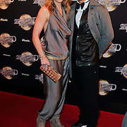 NLD/Amsterdam/20120217 - Premiere Saturday Night Fever, Pauline de Wilde en ……………