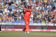 Keaton Jennings of Lancashire Lightning batting during the Vitality T20 Finals Day Semi Final 2018 match between Worcestershire Rapids and Lancashire Lightning at Edgbaston, Birmingham, United Kingdom on 15 September 2018.
