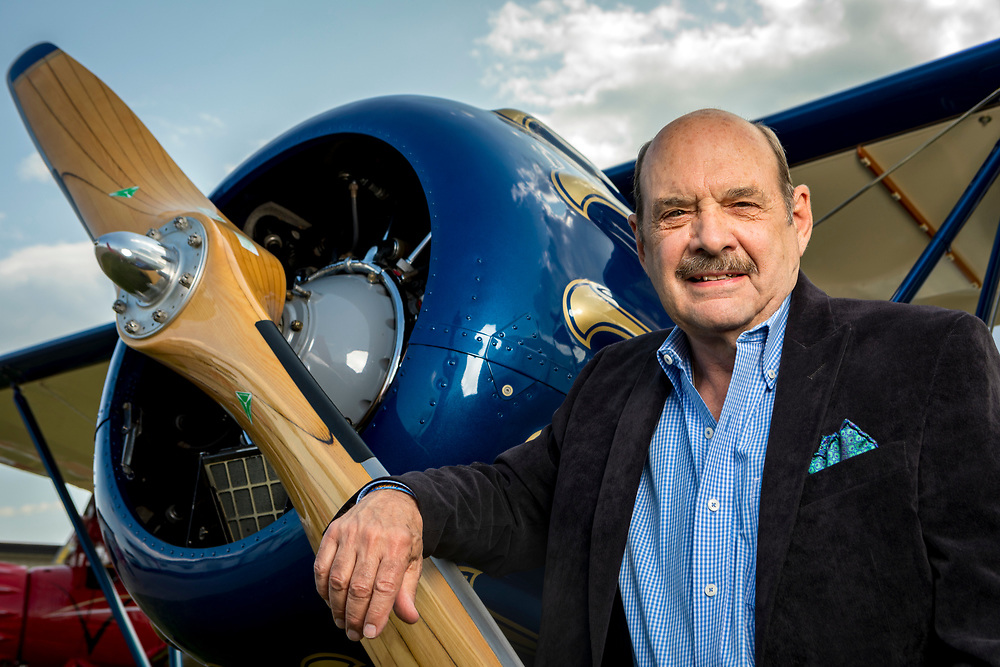 John Petersen, former Chairman of the Lindbergh Foundation.<br /> <br /> Created by aviation photographer John Slemp of Aerographs Aviation Photography. Clients include Goodyear Aviation Tires, Phillips 66 Aviation Fuels, Smithsonian Air & Space magazine, and The Lindbergh Foundation.  Specialising in high end commercial aviation photography and the supply of aviation stock photography for advertising, corporate, and editorial use.