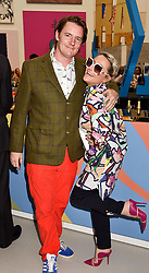 Jaime Winstone and James Suckling at the Royal Academy of Arts Summer Exhibition Preview Party 2017, Burlington House, London England. 7 June 2017.