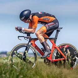 EMMEN (NED) June 16: <br />CYCLING <br />Dutch Nationals Time Trail men U23 Mike Vliek
