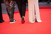 Jonathan Demme, Alix Delaporte and Paz Vega at the gala screening for the film Everest and opening ceremony at the 72nd Venice Film Festival, Wednesday September 2nd 2015, Venice Lido, Italy.