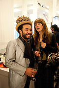 ANDREW IBI; FIONA STUART, The Nineties are Vintage. Concept Store, Rellik and Workit. The Wonder Room. Selfridges. Oxford St. London. 7 January 2010.