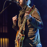 """WASHINGTON, DC - March 7, 2015 - Hozier (right) performs at the Lincoln Theater in Washington, D.C. His hit song """"Take Me To Church"""" was nominated for Song of the Year at the 2015 Grammys. (Photo by Kyle Gustafson / For The Washington Post)"""