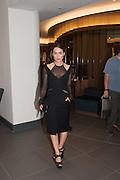 TALLULAH HARLECH, Launch of Equinox, 99 Kensington High st. Former Rainbow Room, London, . 23 October 2012.