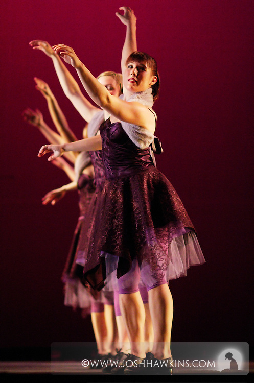 Chicago Tap Theatre - Tap!(ish).Destinations, choreography by Mark Yonally.Dancer, Laura Chiuve
