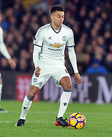 Football - 2016 / 2017 Premier League - Crystal Palace vs. Manchester United<br /> <br /> Jesse Lingard of Manchester United at Selhurst Park.<br /> <br /> COLORSPORT/ANDREW COWIE