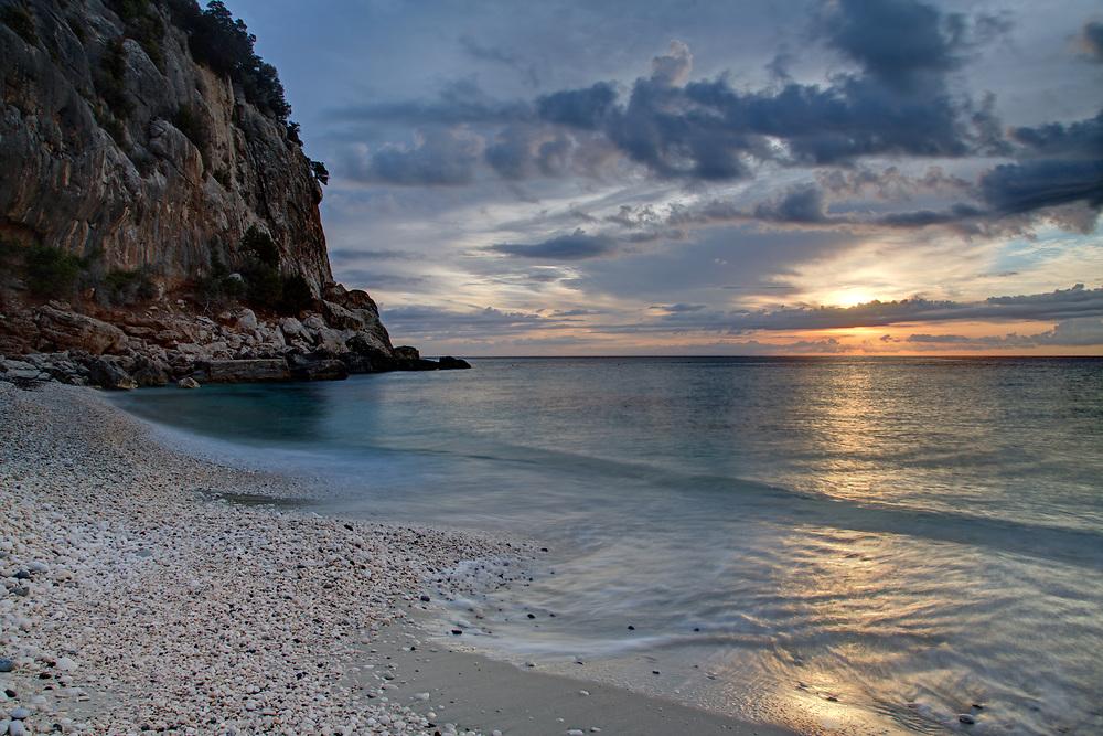 Sunrise at Cala Fuili, Sardinia, Italy
