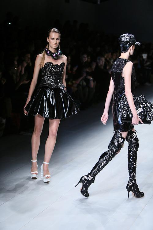 KTZ show during London Fashion Week, Spring/Summer 2013