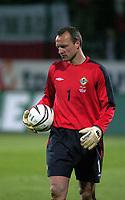 Photo. PIOTR HAWALEJ/Digitalsport<br /> Poland v Northern Ireland<br /> 30/03/2005<br /> 2006 World Cup Qualifier<br />  Northern Ireland's Maik Taylor