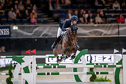 Von Eckermann Henrik, SWE, Que Bueno de Hus Z<br /> Stuttgart - German Masters 2018<br /> © Hippo Foto - Stefan Lafrentz
