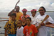Marsters Family, Palmerston Atoll, Cook Islands, Polynesia