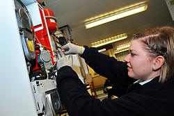 Women Apprentices British Gas, Leeds