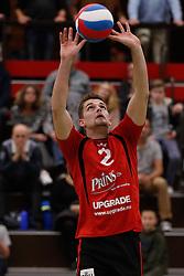 20161029 NED: Eredivisie, Vallei Volleybal Prins - Advisie SSS: Ede<br />Jesse Kling of Vallei Volleybal Prins <br />©2016-FotoHoogendoorn.nl / Pim Waslander