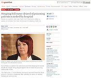 Nurse Rebecca Leighton / The Guardian - 2nd December 2011