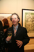 ADAM DANT, Adam Dant: The Art of Hedge. Robilant and Voena Gallery. Dover st. London. 12 November 2007. -DO NOT ARCHIVE-© Copyright Photograph by Dafydd Jones. 248 Clapham Rd. London SW9 0PZ. Tel 0207 820 0771. www.dafjones.com.