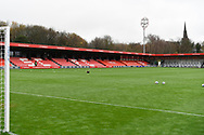General View of the Peninsula Stadium during the EFL Sky Bet League 2 match between Salford City and Bradford City at the Peninsula Stadium, Salford, United Kingdom on 21 November 2020.