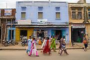 India, Rajasthan, Pushkar Street scene