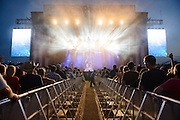 Atmosphere at the FarmBorough Country Music Festival on Randall's Island in New York City on June 26, 2015
